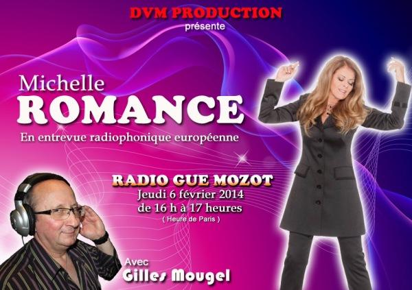 Gilles Mougel Promo Michelle ROMANCE